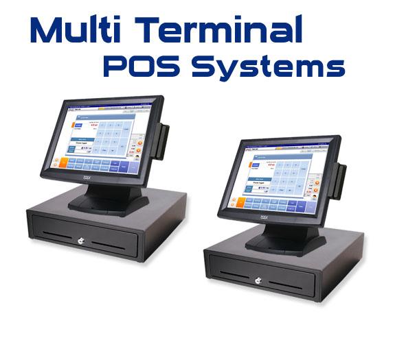 Multi terminal pos systems