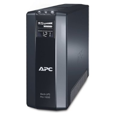 The APC® Back-UPS® Pro 1000 Battery Backup System.