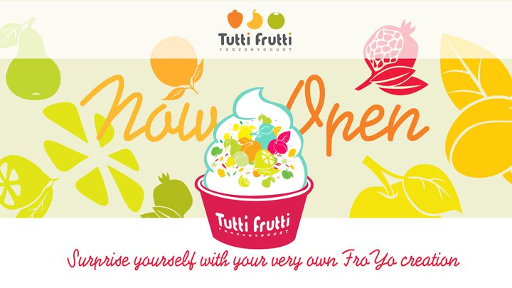 Tutti Frutti Frozen Yogurt POS