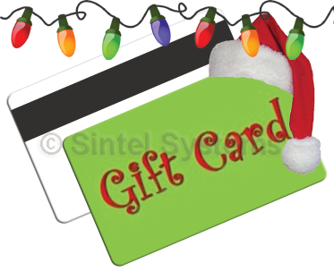 Custom Holiday & Christmas Gift Cards for Point of Sale POS