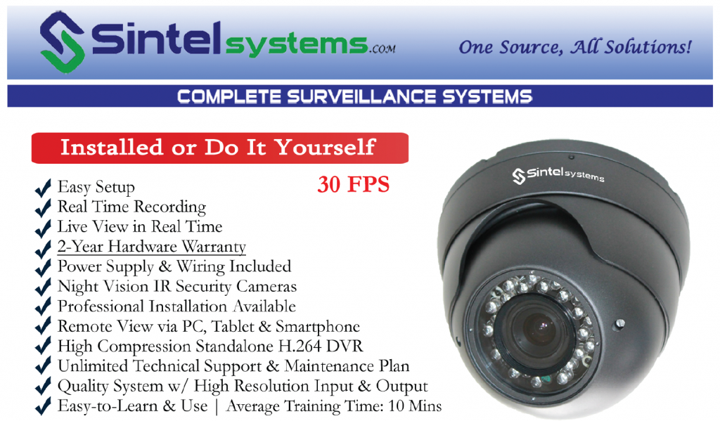 Who installs security cameras bought at home depot or lowes 855 pos sale these systems offered by traditional home freerunsca Choice Image