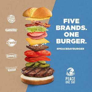 Burger Kings's Peace Burger