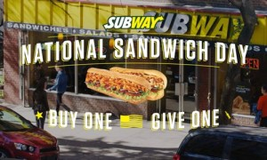 National Sandwich Day Point of Sale article