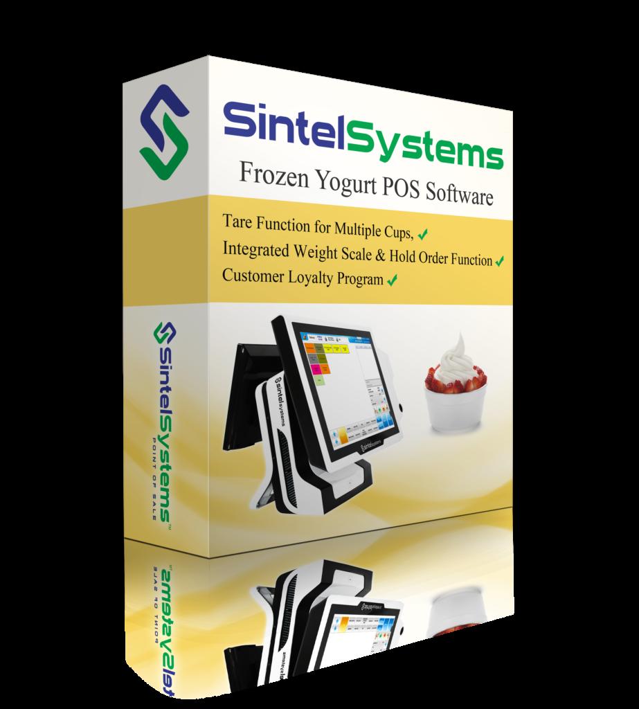 Frozen Yogurt POS Software by Sintel Systems
